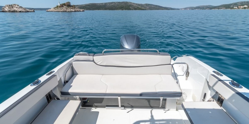 Verhuur Motorboot in Trogir - Bénéteau Flyer 7.7 SPACEdeck