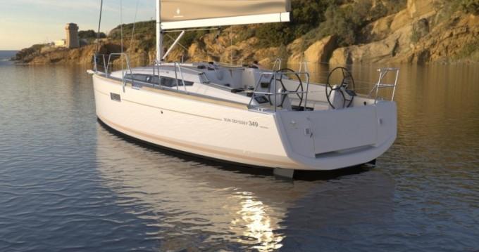 Verhuur Zeilboot in Port du Crouesty - Jeanneau Sun Odyssey 349