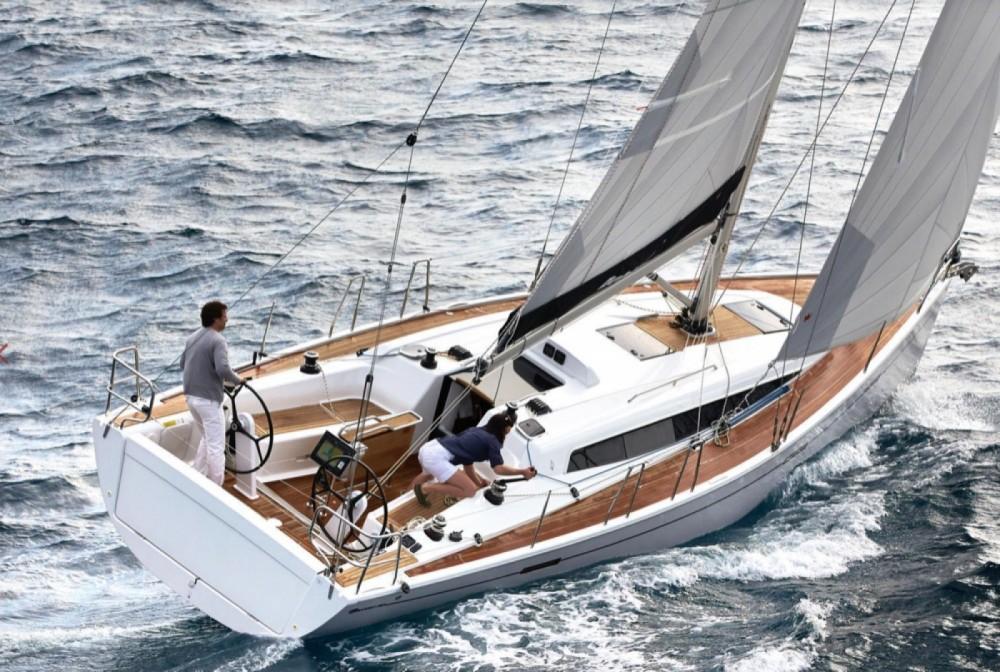 Verhuur Zeilboot in Arzon - Dehler  DEHLER 38