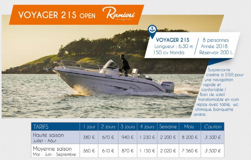 Verhuur Motorboot in Arzon - Ranieri Voyager 21 S