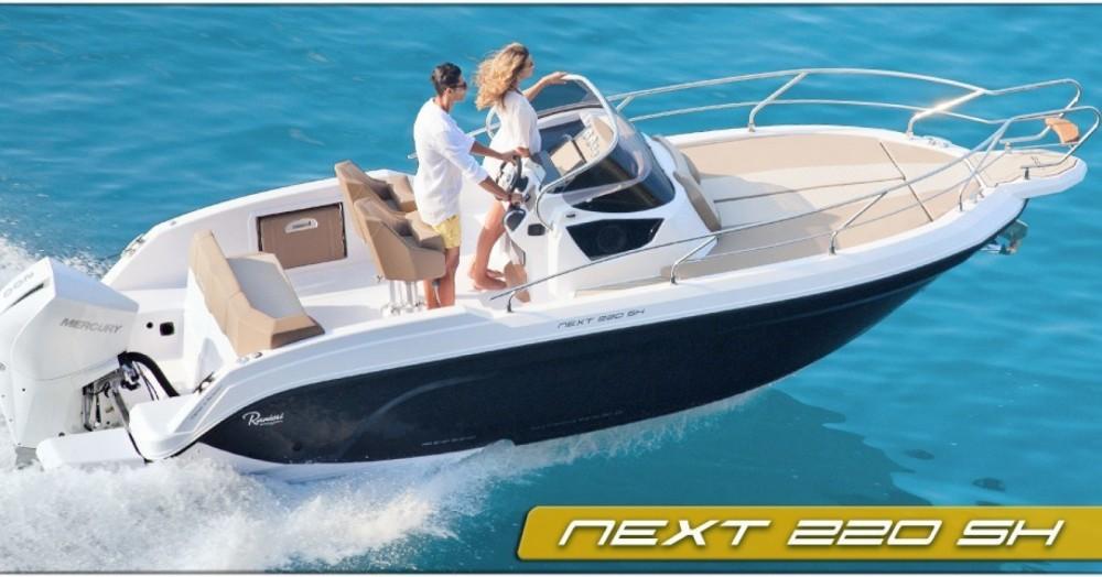 Motorboot te huur in Arzon voor de beste prijs