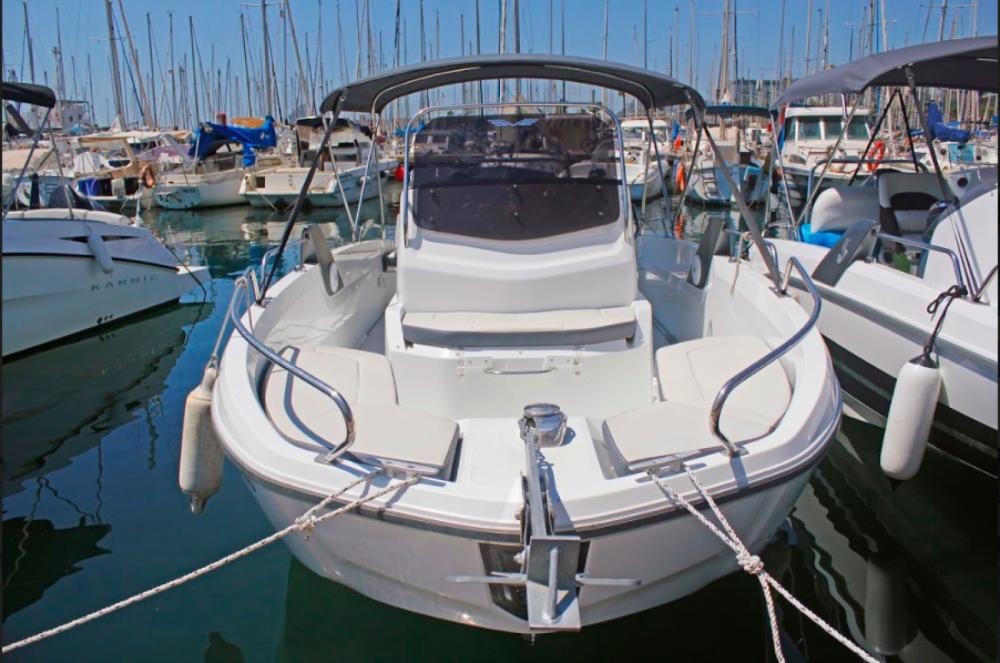 Verhuur Motorboot in Barcelona - Bénéteau Flyer 6.6 SPACEdeck