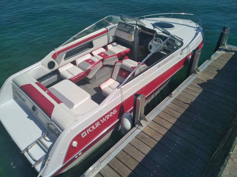 Verhuur Motorboot in Conjux - Four Winns Sundowner 195