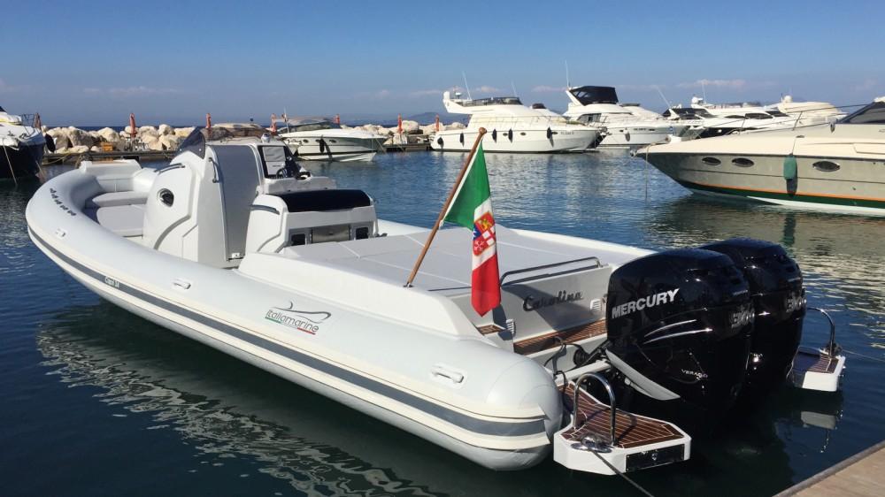 Verhuur Rubberboot Italiamarine met vaarbewijs