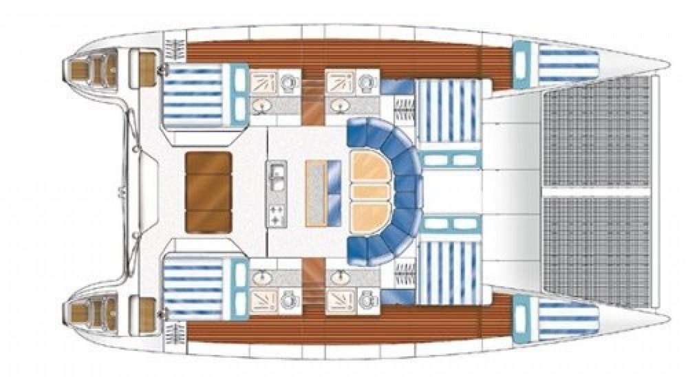 Huur Catamaran met of zonder schipper Nautitech in Papeete