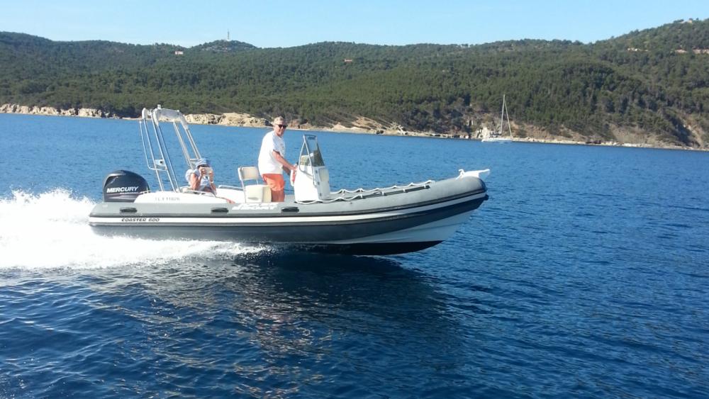 Huur een Joker Boat Coaster 600 in Cavalaire-sur-Mer