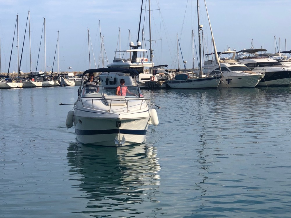Bootverhuur Villeneuve-Loubet goedkoop Chris Craft 260 Stinger