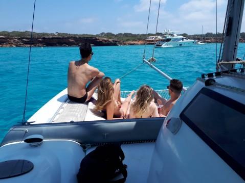 Huur Catamaran met of zonder schipper Fountaine Pajot in Formentera