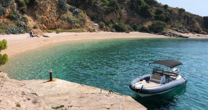 Verhuur Rubberboot in Trogir - Marlin Boat 790 PRO BLACK EDITION UNIQUE