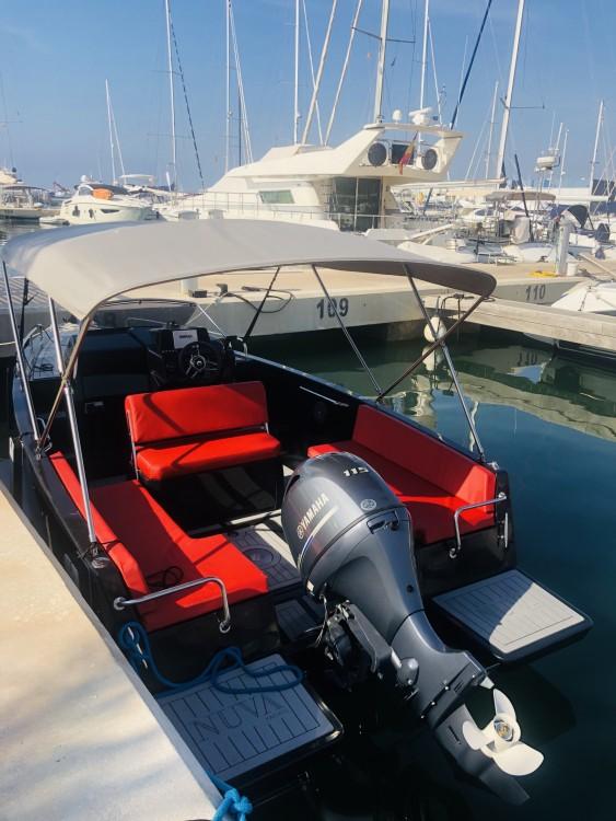 Verhuur Motorboot Nuva met vaarbewijs