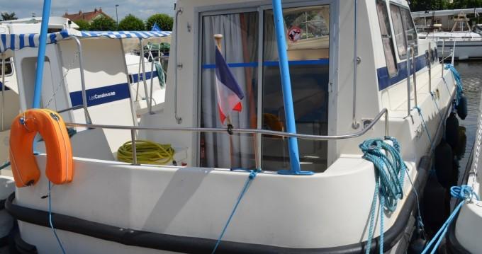 Verhuur Woonboot in Châtillon-en-Bazois - Les Canalous Triton 1050
