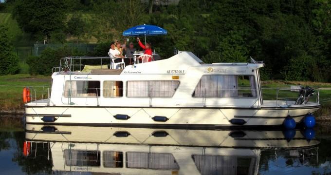 Verhuur Woonboot Les Canalous met vaarbewijs