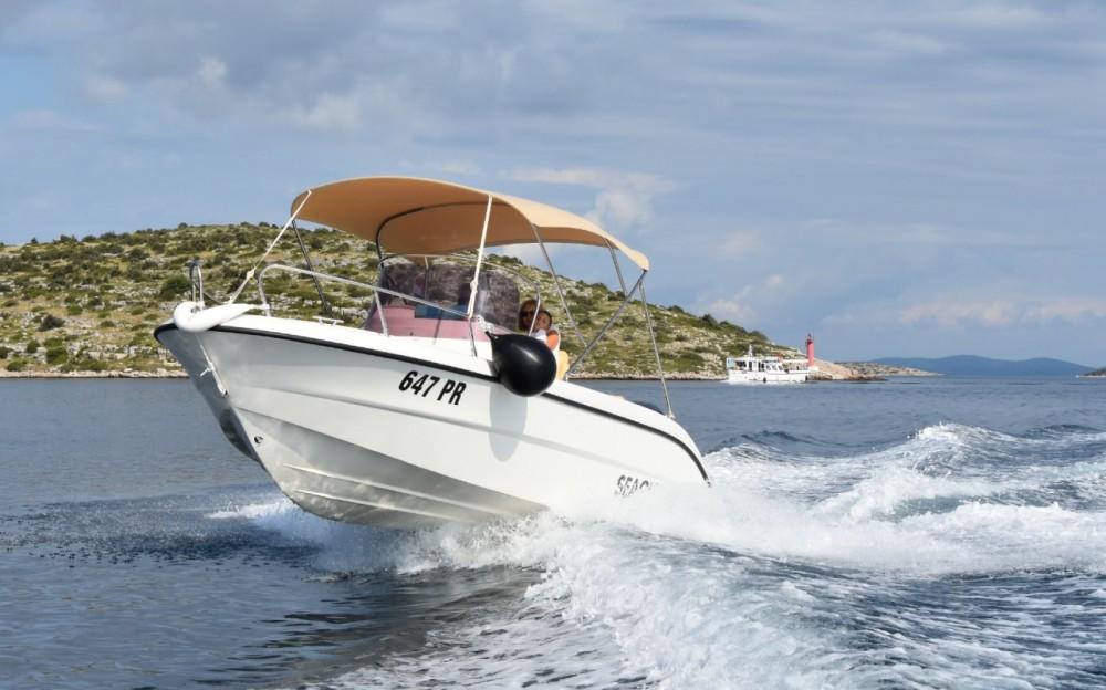 Bootverhuur Ugljan goedkoop Key Largo 20 Deck