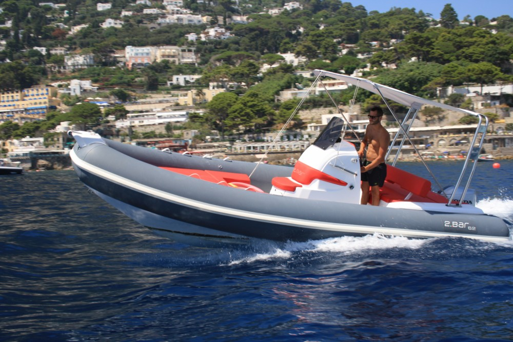 Huur Rubberboot met of zonder schipper 2 BAR in Sorrento