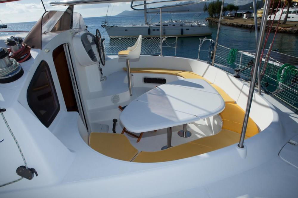 Verhuur Catamaran in Papeete - Fountaine Pajot Bahia 46