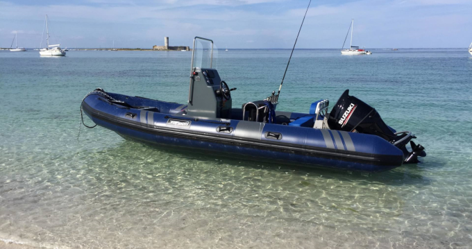 Huur Rubberboot met of zonder schipper Tarpon in Concarneau