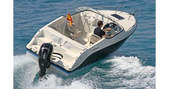 Huur Motorboot met of zonder schipper Quicksilver in Antibes