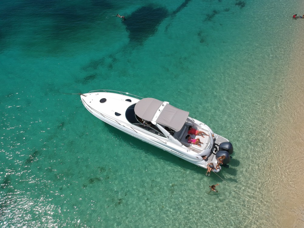 Verhuur Motorboot in Simpson Bay - Sunseeker Superhawk 40