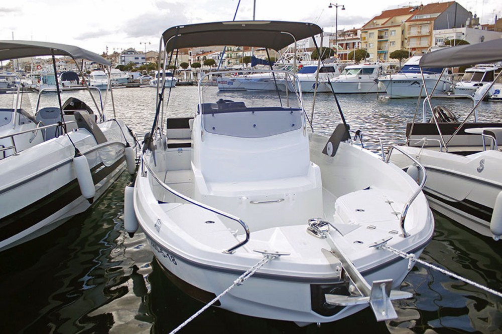 Bootverhuur Sant Carles de la Ràpita goedkoop Flyer 6.6 SPACEdeck