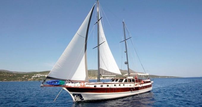 Verhuur Zeilboot in Bodrum - Gulet Custom Built Gulet