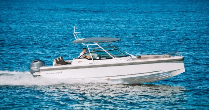 Huur Motorboot met of zonder schipper Axopar in Zadar