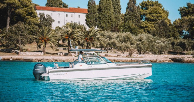Jachthuur in Zadar - Axopar 24 T-Top via SamBoat