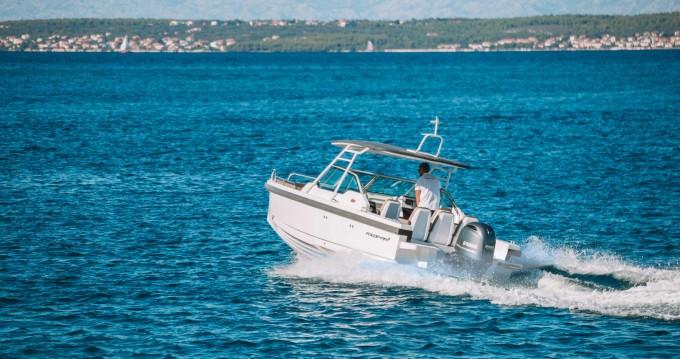 Huur een Axopar 24 T-Top in Zadar