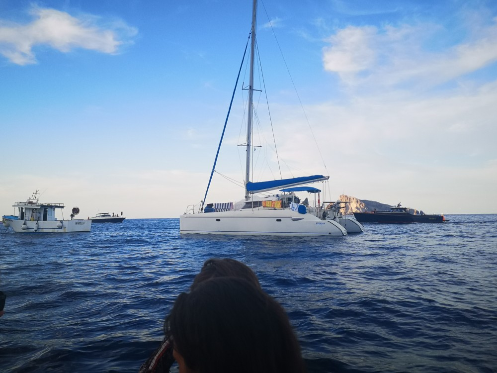 Verhuur Catamaran in Alghero - Fountaine Pajot Lavezzi 40
