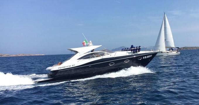Verhuur Motorboot in Porto Cervo - Pershing Pershing 37