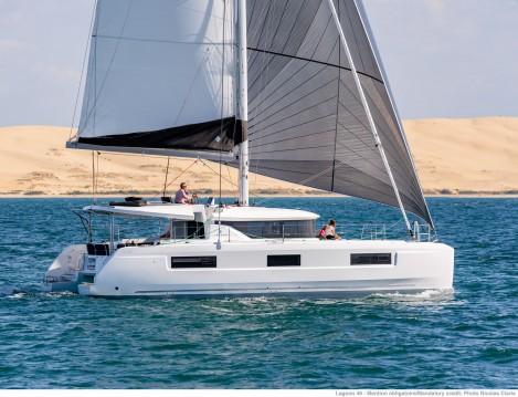 Huur Catamaran met of zonder schipper Lagoon in Marina Cay