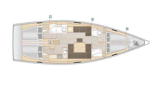 Verhuur Zeilboot in Lávrio - Hanse Hanse 458
