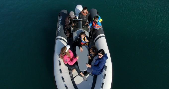 3D Tender Lux 500 te huur van particulier of professional in La Manga del Mar Menor