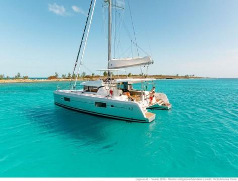 Verhuur Catamaran in Donji Seget - Lagoon Lagoon 42