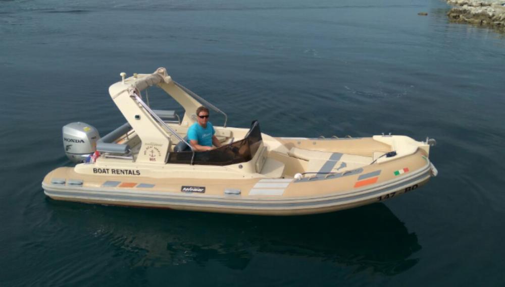 Verhuur Rubberboot in Bol - Solemar B 58 offshore