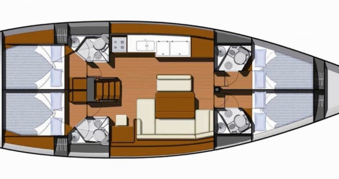 Bootverhuur Jeanneau Sun Odyssey 49i in Volos via SamBoat
