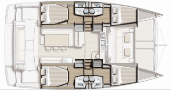 Catamaran te huur in Volos voor de beste prijs