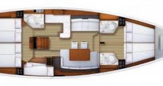 Verhuur Zeilboot in Volos - Jeanneau Jeanneau 53
