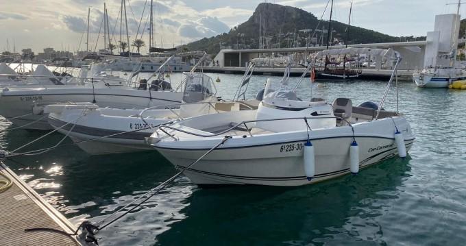 Motorboot te huur in Fornells voor de beste prijs