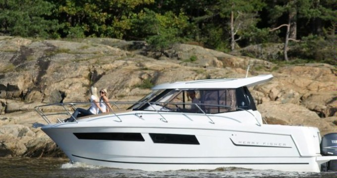 Huur Motorboot met of zonder schipper Jeanneau in Nieuwpoort-Bad