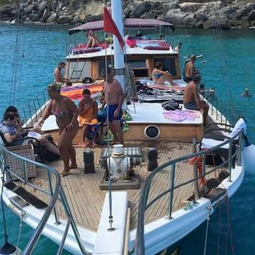 Huur Zeilboot met of zonder schipper Hasan Aliboyererol Oztabak Shipyard in Trapani