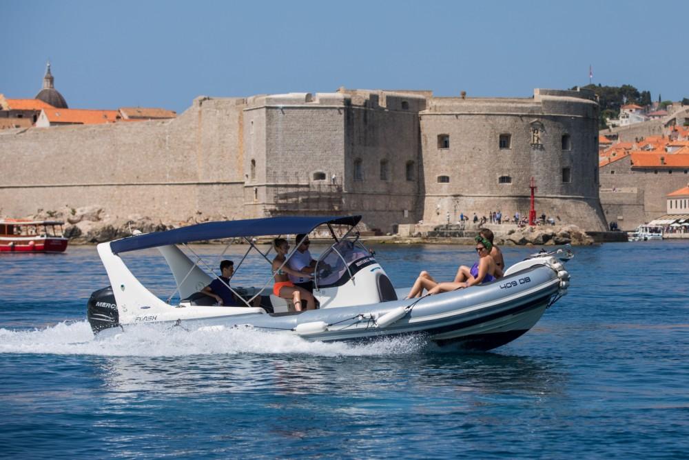 Bootverhuur Zodiac 409 DB in Dubrovnik via SamBoat