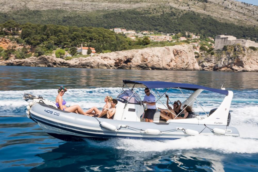 Huur een Zodiac 409 DB in Dubrovnik