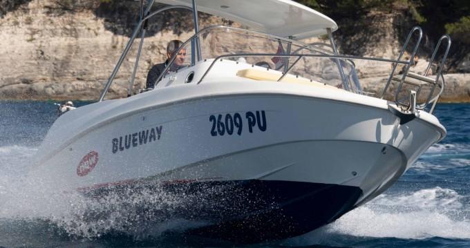 Jachthuur in Pula - Blueway Blueway 20 SD-C via SamBoat