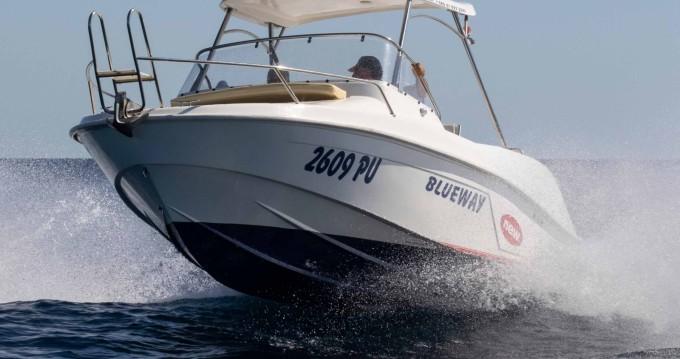 Verhuur Motorboot in Pula - Blueway Blueway 20 SD-C