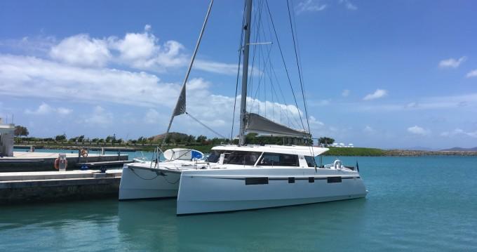 Verhuur Catamaran Nautitech met vaarbewijs