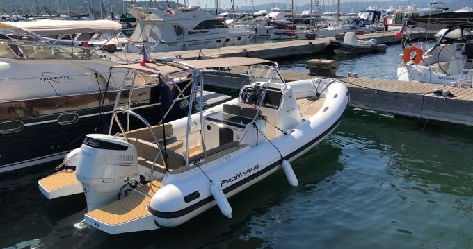 Verhuur Rubberboot in Cogolin - Pro Marine 7,25