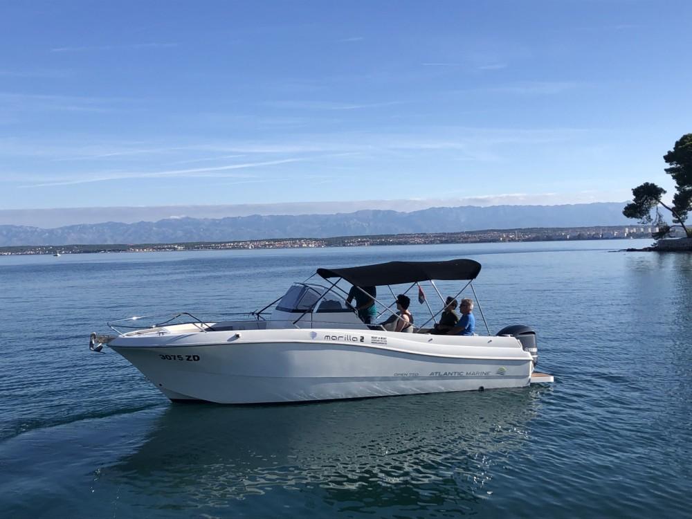 Huur Motorboot met of zonder schipper Atlantic in Zadar