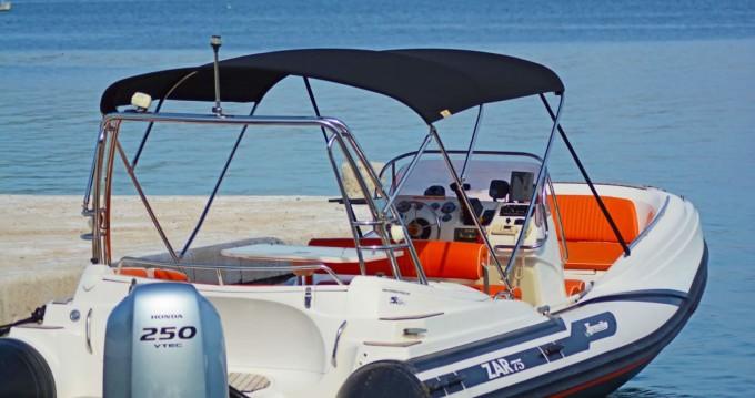 Verhuur Rubberboot in Tribunj - Zar Zar 75