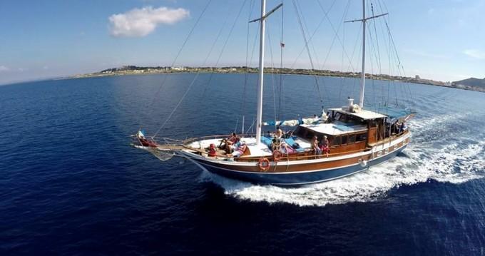 Hasan Aliboyererol Oztabak Shipyard Caicco te huur van particulier of professional in Trapani