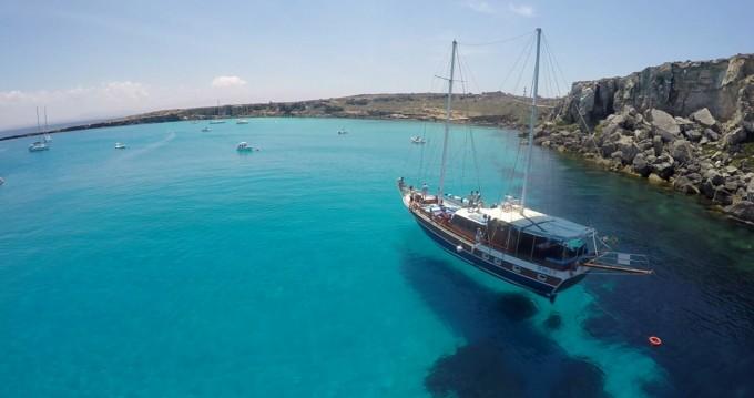 Verhuur Zeilboot Hasan Aliboyererol Oztabak Shipyard met vaarbewijs